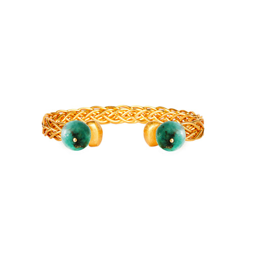 Liza Echeverry Jewelry Colombia Classics Collection Emma Emerald Bracelet