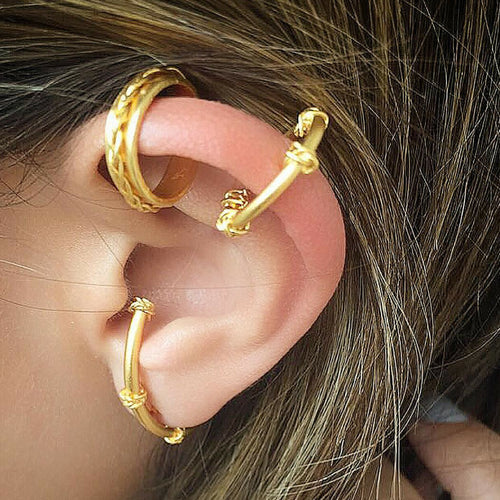 Liza Echeverry Jewelry Designer Colombia Classics Collection Mini Braids Ear Cuff