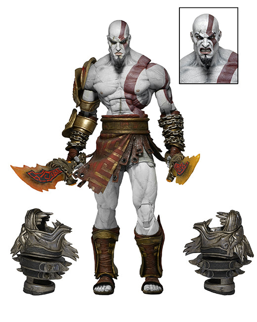 Kratos o fantasma de Esparta - God of War 3 - Action Figure