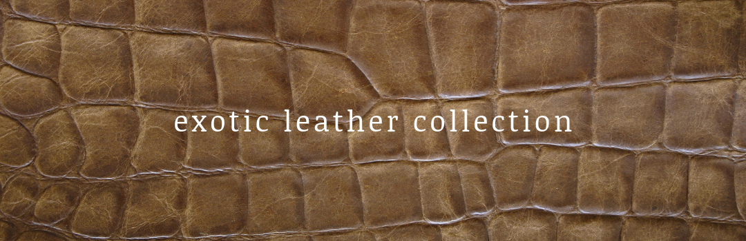 Ivory Soho Exotic Leather Collection