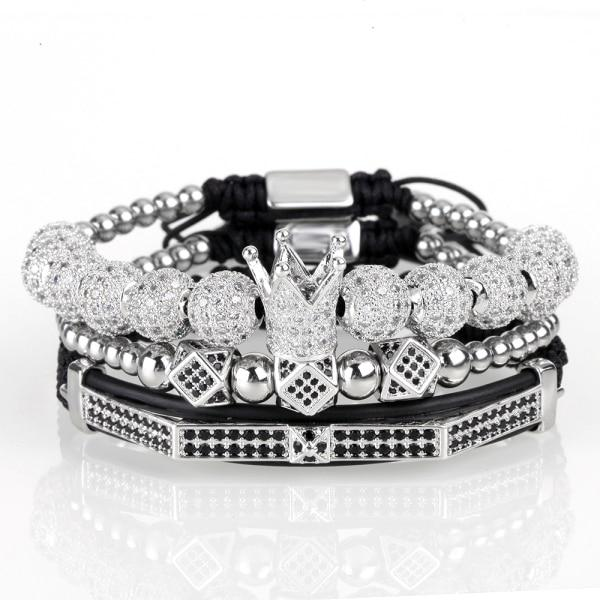 Ivory Soho Saint Tropez Crown Bracelet Stack