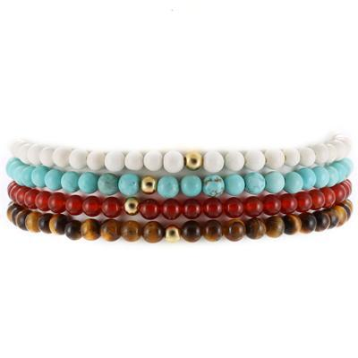 Ivory Soho Dylan Natural Stone Beaded Bracelet Set