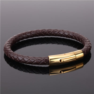 Ivory Soho Bleecker Leather Bracelet