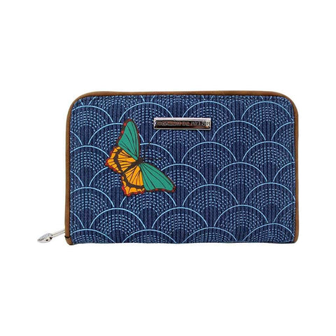 Cartera Indigo Denim