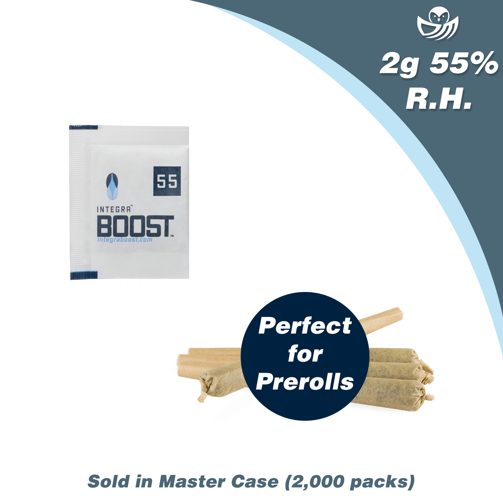 2g Integra Boost 55% RH - Master Case (2000 packs)