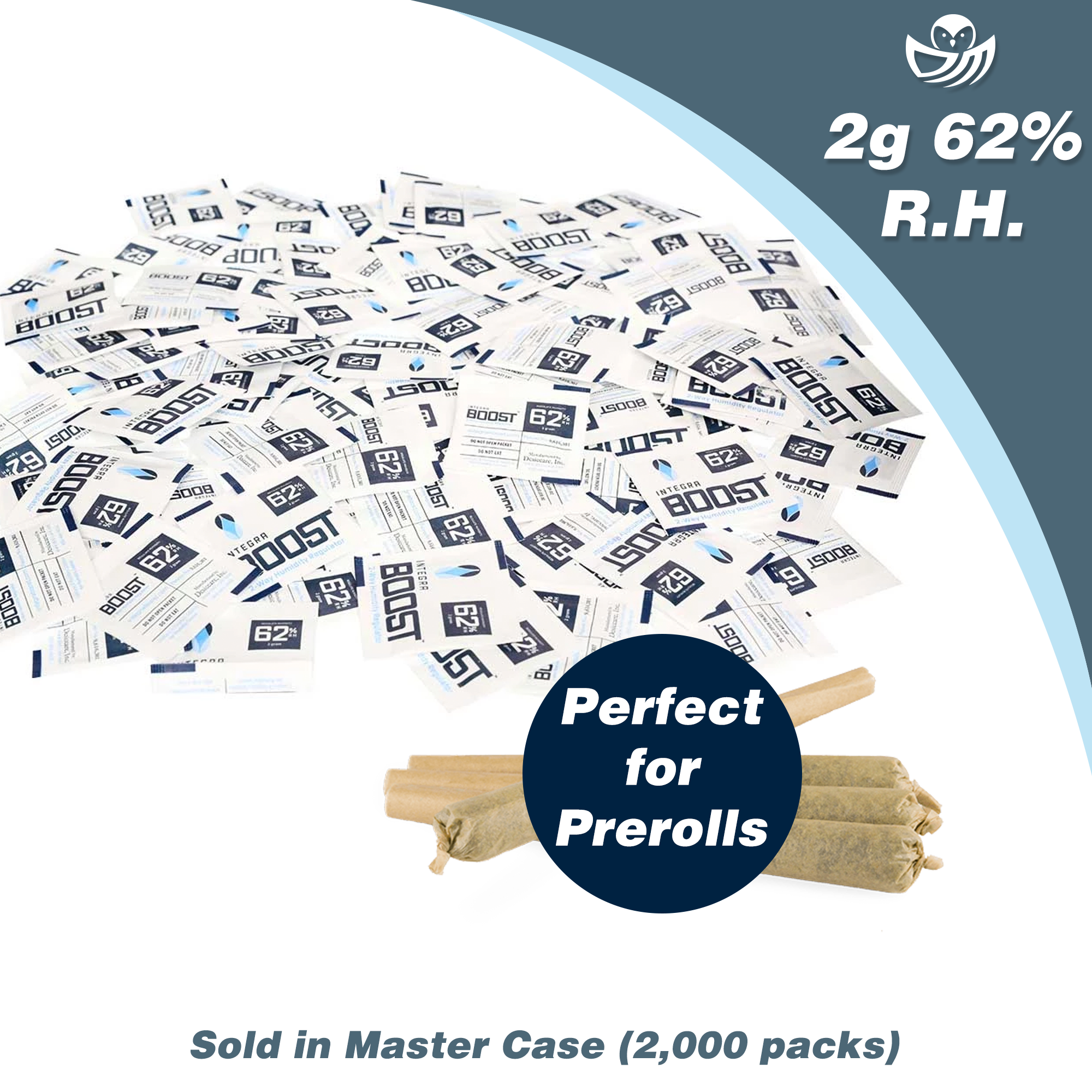 2g Integra Boost 62% RH - Master Case (2000 packs)
