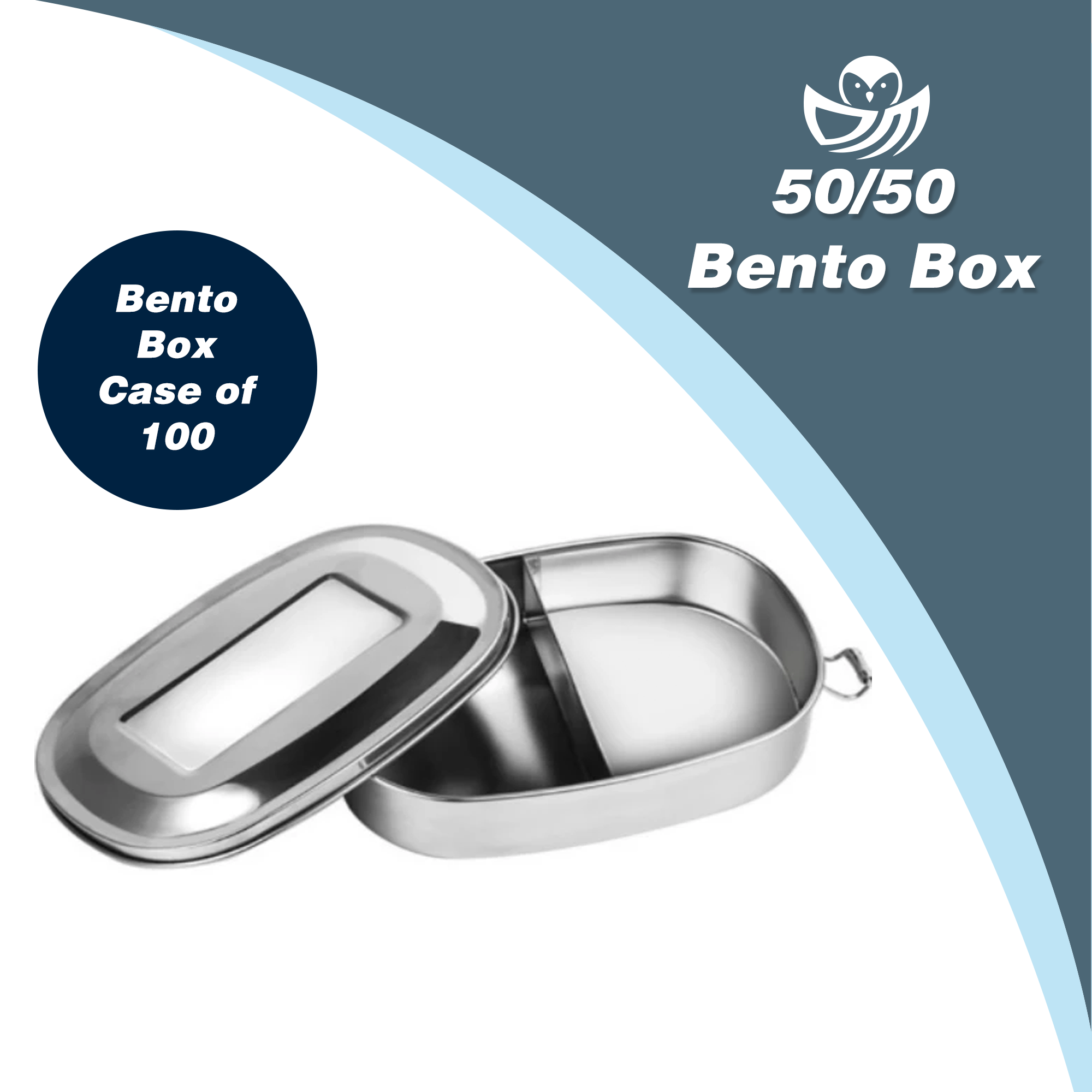 Bento 50/50 - Wholesale case of 100