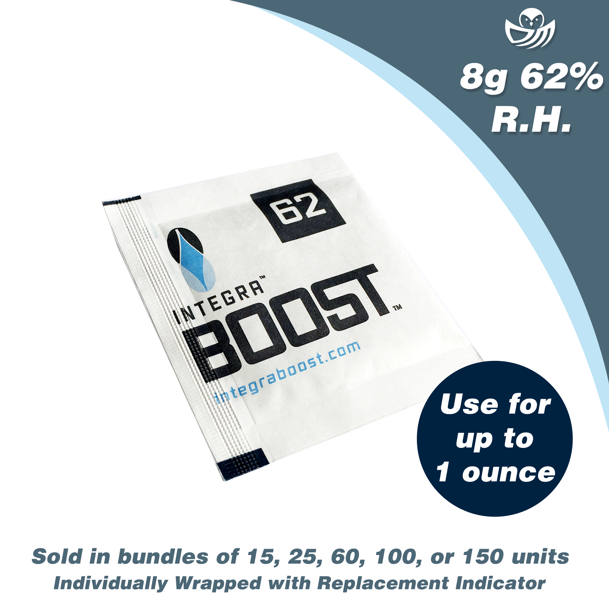 8g Integra™ Boost™ - 62% RH Master Cases - 300 count