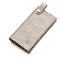 Luxury leather dog bag holder silver