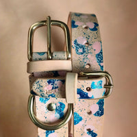 Hand-painted dog collars bracelets