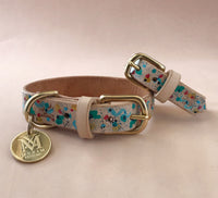 dog collars with matching bracelets