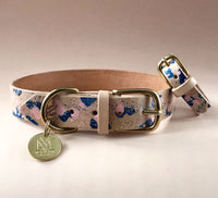 Matching Dog Collars and Bracelets