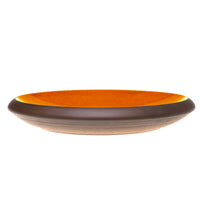 Whisker friendly cat bowl in orange - by Maxim Customs
