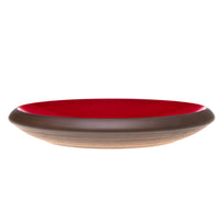Whisker friendly cat bowl in red - by Maxim Customs
