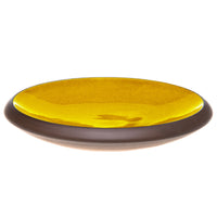 Whisker friendly cat bowl in yellow - by Maxim Customs