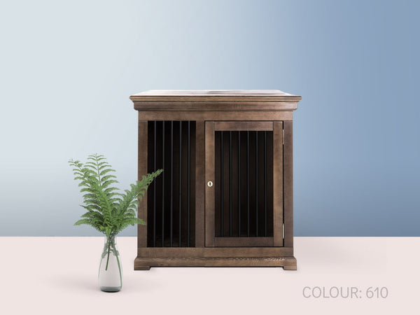 dog crate furniture wooden luxury