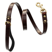 Luxury designer dog collar sets - brown