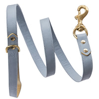 Luxury designer dog collar set - Pastel Blue