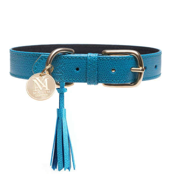 Dog collar with tassel