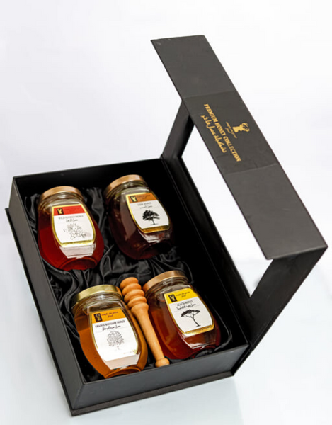 Gift Set: 4 Jars of 250g each