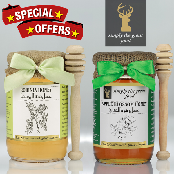 Robinia Honey & Apple Blossom Honey