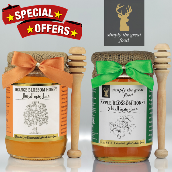 Orange Blossom Honey & Apple Blossom Honey