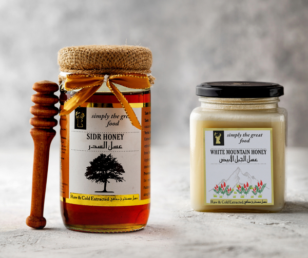 Sidr Honey & White Mountain Honey