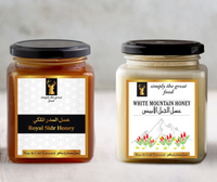 Royal Sidr Honey & White Mountain Honey