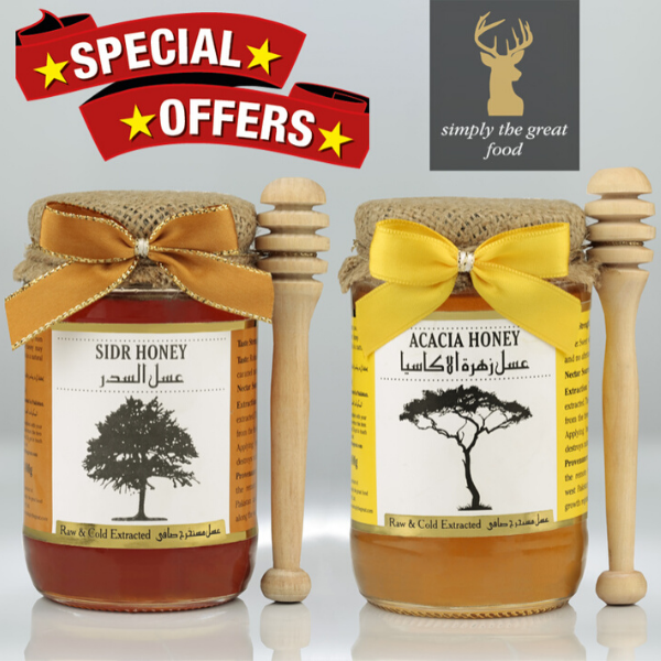 Sidr Honey & Acacia Honey