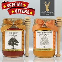 Sidr Honey & Orange Blossom Honey