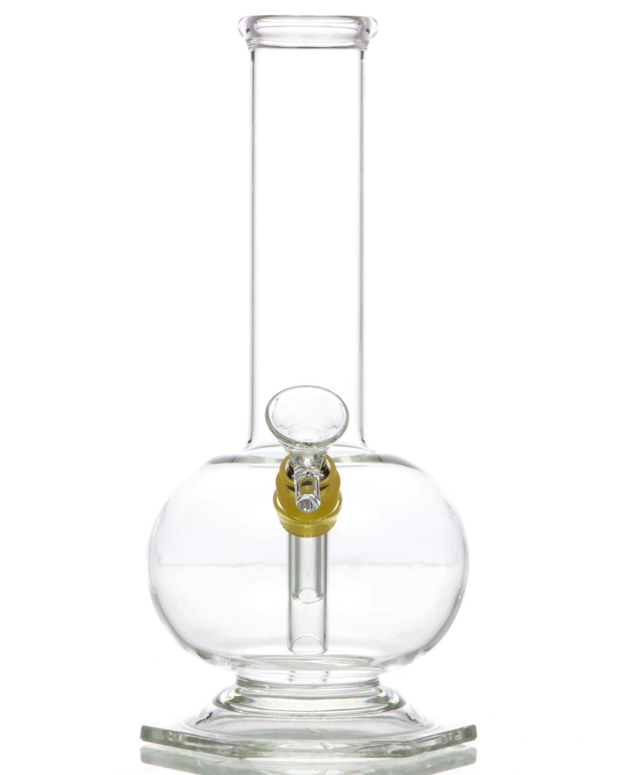 Hexagon Base Bubble Beaker Water Pipe