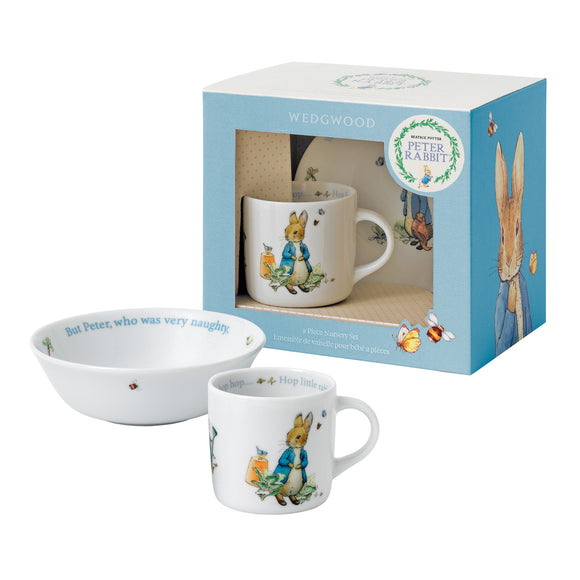 Wedgwood Peter Rabbit 2-Piece Set - (Bowl and cup)