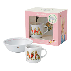 Wedgwood Peter Rabbit  2-Piece Set -(bowl and cup)