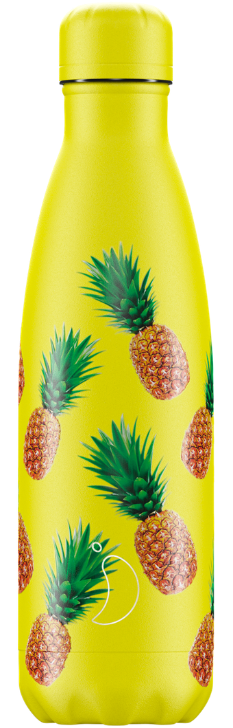 500ml Chilly's Bottle - ICON PINEAPPLE