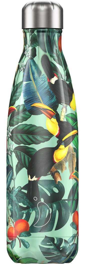 500ml Chilly's Bottle - Tropical TOUCAN
