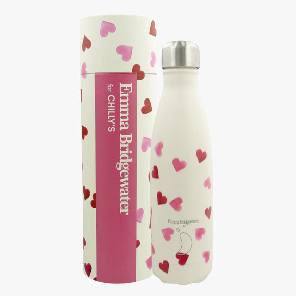 500ml Chilly's Bottle - Emma Bridgwater Hearts
