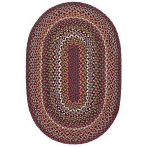 Braided Rug - Oval Shiraz 61x91 cm