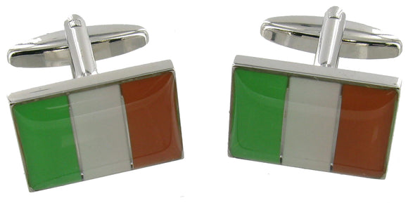 Cufflinks Ireland Flag