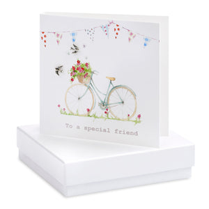 Bicycle - Earrings Card