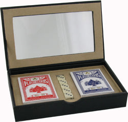 Card and Dice set in PU Case