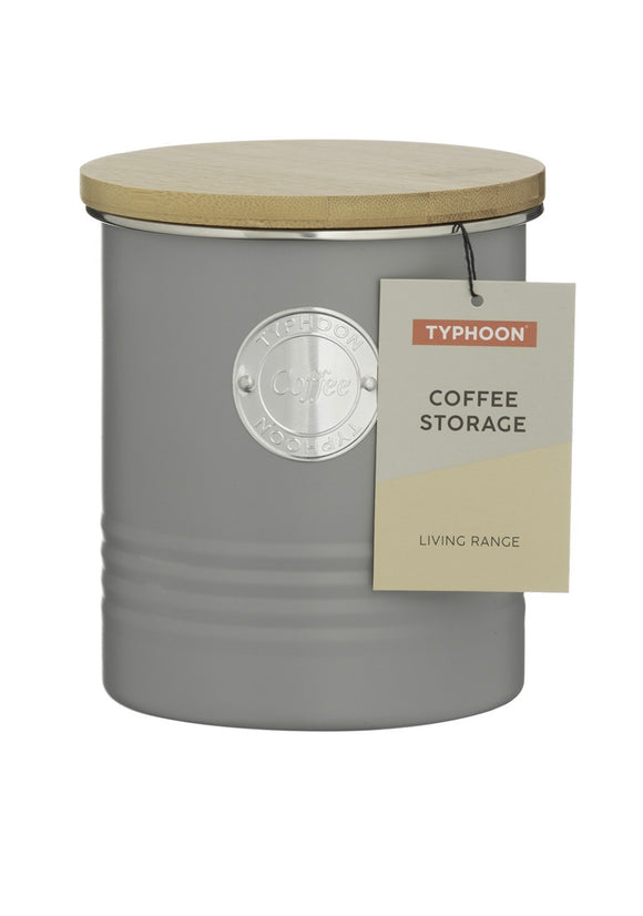 TYPHOON LIVING GREY COFFEE STORAGE