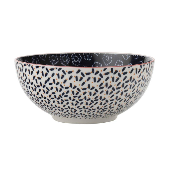 Maxwell Williams Boho Bowl Shibori Navy 12.5cm