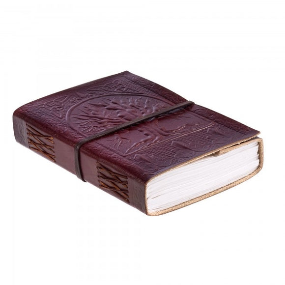 2 String Chocolate Cowdung Leather Journal