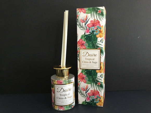 Desire Diffuser Tropical citrus sage 120ml