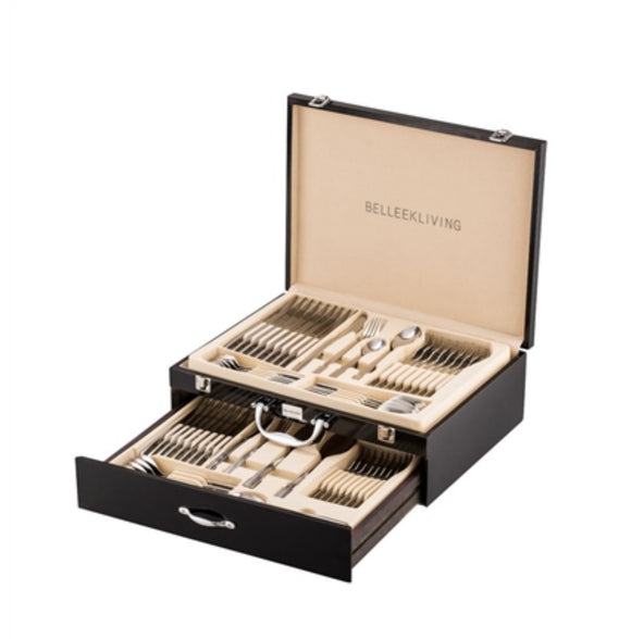 Belleek Living Occasions 72 piece Canteen of Cutlery