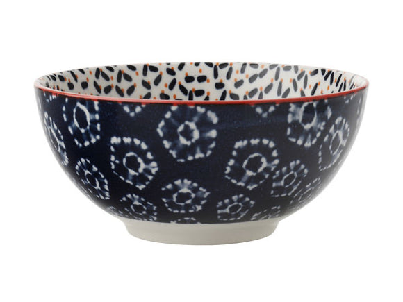 MW Boho Coupe Bowl Kiraku Blue 18cm