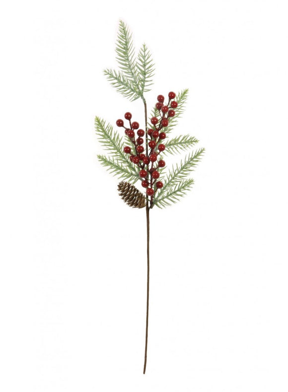Xmas Pine ball Berry pic red