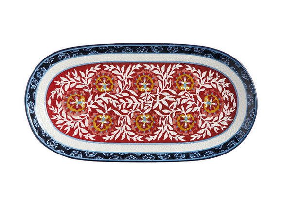 Maxwell Williams Boho Oblong Platter 33x17cm GB