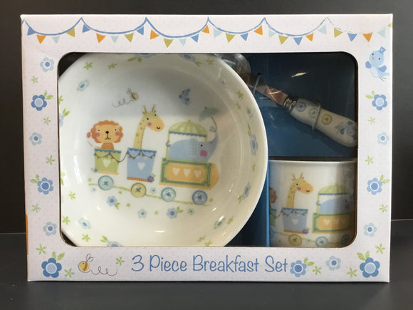 Childs 3 Piece Breakfast Set