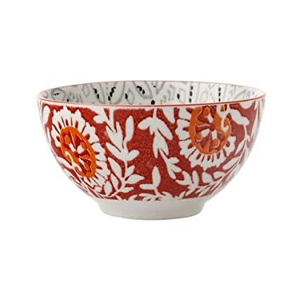 Maxwell Williams Boho Bowl Batik Grey 15cm